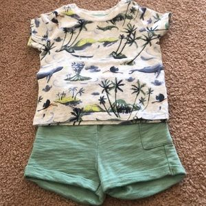 H and M boys shorts set. Excellent condition.